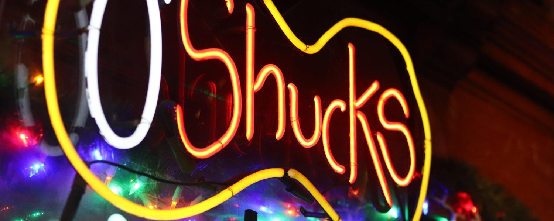 Welcome to O'Shucks / Ahh Sushi